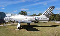51-9495 @ VPS - F-84 Thunderstreak at Air Force Armament Museum