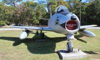 52-5513 @ VPS - F-86 Sabre at Air Force Armament Museum - by Florida Metal