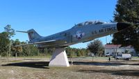 57-0417 - F-101B Voodoo at a park in Panama City FL - by Florida Metal