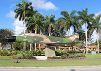 66-0273 - F-4D Phantom II in Homestead FL on US 1 - by Florida Metal