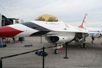 75-0745 @ LAL - YF-16A Thunderbirds