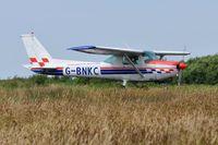 G-BNKC @ EGFH - Visiting 152. - by Roger Winser