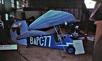 BAPC077 @ EGBJ - Mignet HM.14 Pou du Ciel [SM.1] Staverton~G 27/07/1977 - by Ray Barber