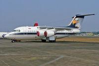 PK-OSP @ WIIH - British Aerospace BAe 146-100 [E1124] (Airfast Indonesia) Jakarta-Halim Perdanakusuma Int~PK 25/10/2006