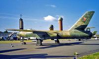 208 @ EDBG - Ilyushin IL-28B [55006448] (German Air Force) Berlin-Gatow~D 20/05/1998 - by Ray Barber