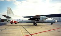 LZ-MNH @ LHBP - Antonov An-26 [64-07] (Scorpion Air) Budapest-Ferihegy~HA 15/06/1996 - by Ray Barber