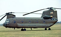 68-15863 @ EGUN - Boeing-Vertol CH-47C Chinook [B575] (United States Army) RAF Mildenhall~G 04/07/1976. From a slide. - by Ray Barber