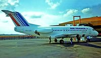 PH-LEX @ LFBO - Fokker F-28-4000 Fellowship [11179] (Air France) Toulouse-Blagnac~F 21/09/1982. From a slide.