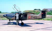 T-423 @ EKKA - Saab MFI-17 Supporter [15-223] (Danish Air Force) Karup~OY 09/06/2000