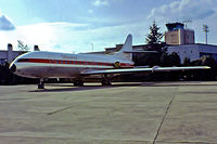 F-BRGU @ LFBO - Sud Aviation SE.210 Caravelle VI-N [237] (Minerve) Toulouse-Blagnac~F 21/09/1982. From a slide.