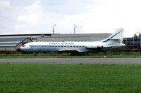F-WQCT @ EBKT - Sud Aviation SE.210 Caravelle 11R [240] (Eureka Aviation) Kortrijk-Wevelgem~OO 01/09/1996