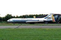 F-WQCU @ EBKT - Sud Aviation SE.210 Caravelle 11R [251] (Eureka Aviation) Kortrijk-Wevelgem~OO 01/09/1996
