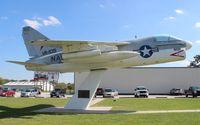 152650 - A-7A Corsair II at Don Garlits Drag Race Museum near Ocala FL - by Florida Metal