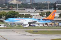 C-FTZD @ FLL - Sunwing 737-800 - by Florida Metal
