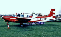 D-EHSF @ EGTC - Wassmer WA.40 Super IV [25] Cranfield~G 04/07/1998 - by Ray Barber