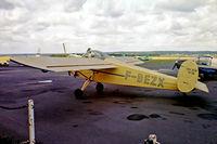 F-BEZX @ LFPZ - Nord NC.858S [116] St. Cyr-L Ecole~F 13/08/1980. From a slide.