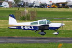 G-BHLX @ EGBJ - Visitor for Project Propeller 2014 - by Chris Hall