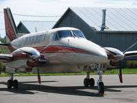 C-GHVI @ CCS3 - Sitting at the St Stephen, New Brunswick, Canada - by Ron Coates