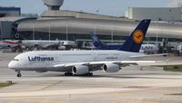 D-AIMD @ MIA - Lufthansa A380
