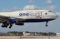 G-CIVL @ MIA - British 747-400