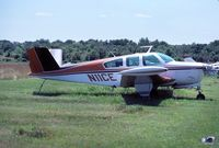 N11CE @ VAY - Classic '56 Bonanza, at what was Burlington County Airfield (7MY) later changed to VAY - by John Hevesi
