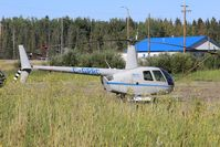 C-GPRC - On standby for forest fire detail in Zama City, Alberta - by Guy Pambrun
