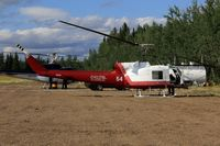 C-GRGA - On standby for forest fire detail in Zama City, Alberta - by Guy Pambrun