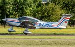 D-EPOH @ EDRJ - departure via RW07 - by Friedrich Becker