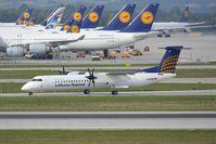 D-ADHP @ EDDM - Augsburg Airways - by Maximilian Gruber