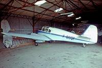 F-BGQF @ LFGB - Aero 45 [49027] Mulhouse-Habsheim~F 12/09/1981. From a slide.