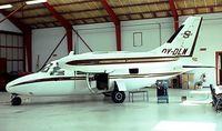 OY-DLM @ EKBI - Mitsubishi MU-2F (MU-2B-20) [187] (Dansk Styropack A/S) Billund~OY 04/06/1982