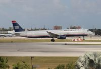 N177US @ MIA - US Airways A321