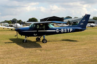 G-BSTP @ EGKH - TAXIING FOR AT HEADCORN - by Jeff Sexton