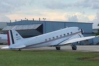 N8WJ @ FXE - Douglas C-47 at FXE