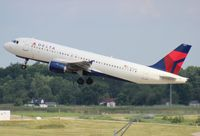 N312US @ DTW - Delta A320 - by Florida Metal