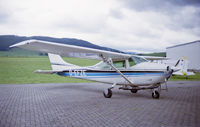D-EFZE - A Cessna 182H used for paradropping in Germany. (sorry, old picturescanned from negative. Can't remember wich airfield.) - by Mabogey