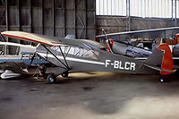 F-BLCR @ LFPR - Piper L-18C-95 Super Cub [18-1475] Guyancourt~F 13/09/1980. From a slide.