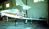 F-WYFP @ LFCL - Rutan Vari Viggen SP [072] Toulouse-Lasbordes~F 21/09/1982. From a slide.