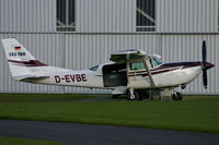 D-EVBE @ EDLF - Almost ready for takeoff @ Grefrath, to deliver skydivers to their destination... - by Mabogey