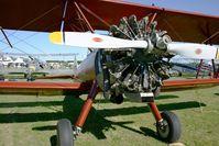F-AZMZ @ LFFQ - Boing Stearman E-75, La Ferté-Alais Airfield (LFFQ) - by Yves-Q