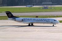 D-AGPK @ LSZH - Fokker F-100 [11313] (Contact Air) Zurich~HB 07/04/2009