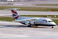 G-BZAV @ LSZH - British Aerospace BAe 146-RJ100 [E3331] (BA Cityflyer) Zurich~HB 07/04/2009