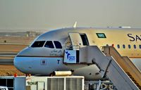 HZ-AST @ OERK - Saudia A321 At Riyadh Airport - by Odai Ayyad