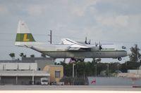 N401LC @ MIA - Linden Air Cargo L382 Hercules