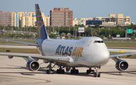 N415MC @ MIA - Atlas Air 747-400