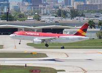 N417AV @ FLL - Avianca A320
