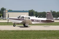 N1031R @ KOSH - Mooney M20K - by Mark Pasqualino