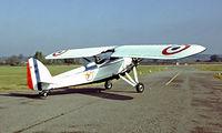 F-BCNN @ LFDM - Morane-Saulnier MS.317 [6592/338] Marmande-Virazeil~F 20/09/1982. From a slide.