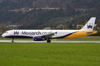 G-OZBP @ LOWI - Monarch Airlines - by Maximilian Gruber