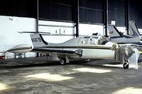 N5878 @ EGTR - Morane-Saulnier MS.760 Paris IIB [106] Elstree~G 10/04/1979. From a slide.